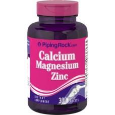Calcium Magnesium Zinc Piping Rock (300 капс)
