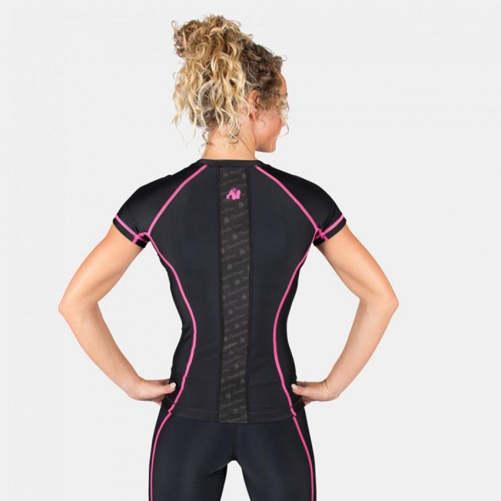 Футболка Carlin Compression Short Sleeve Black Pink