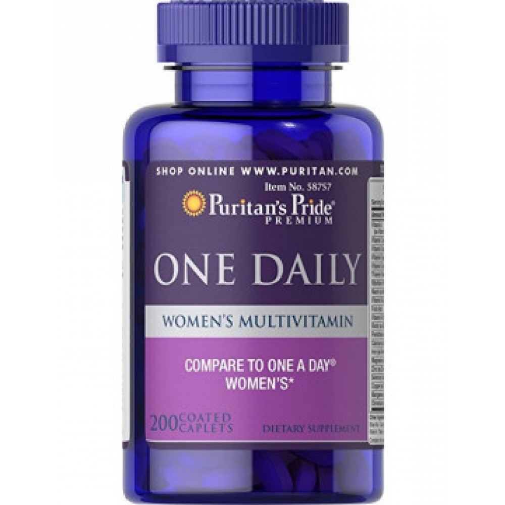 One Daily Women's Multivitamin 200caplets