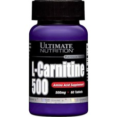 L-carnitine 500 Ultimate Nutrition (60 табл)