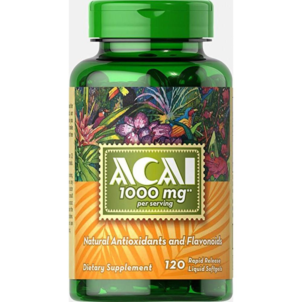 ACAI (1000 mg) 120 Softgels