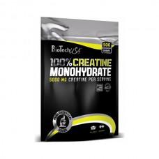 Креатин 100% Creatine Monohydrate BioTech USA (500 г)