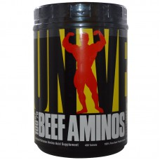 100% Beef Aminos Universal Nutrition (400 табл)