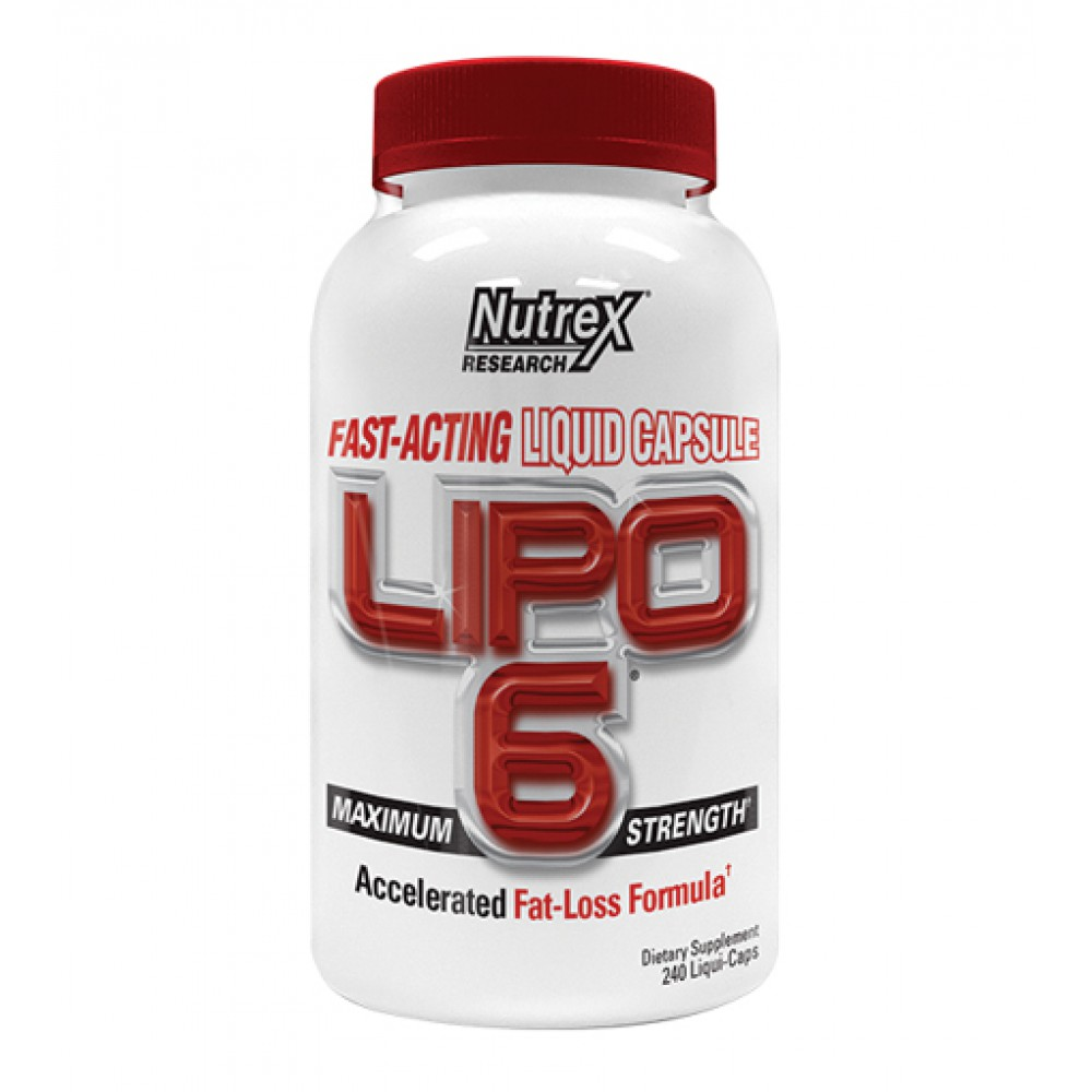 Lipo-6 Nutrex Research (240 капс)