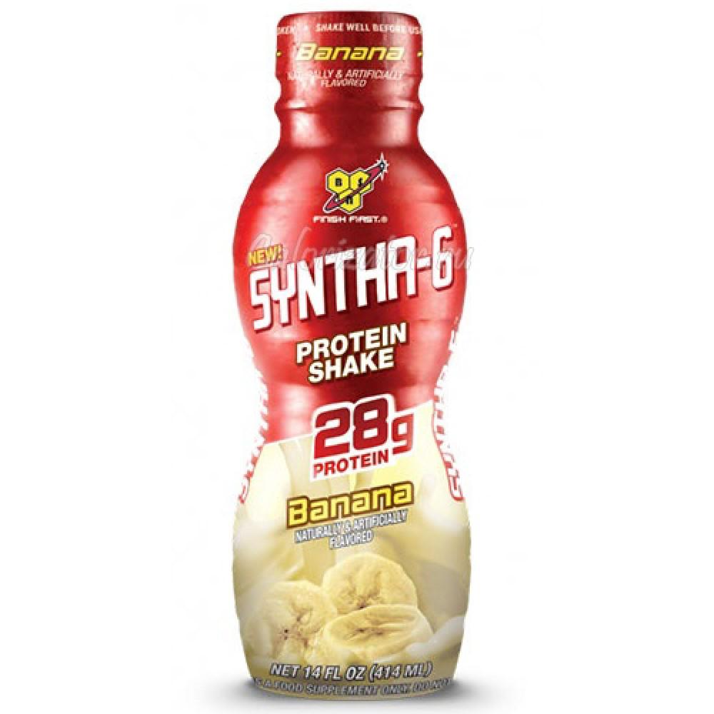Syntha 6 Protein Shake BSN (12 бут. по 414 мл)