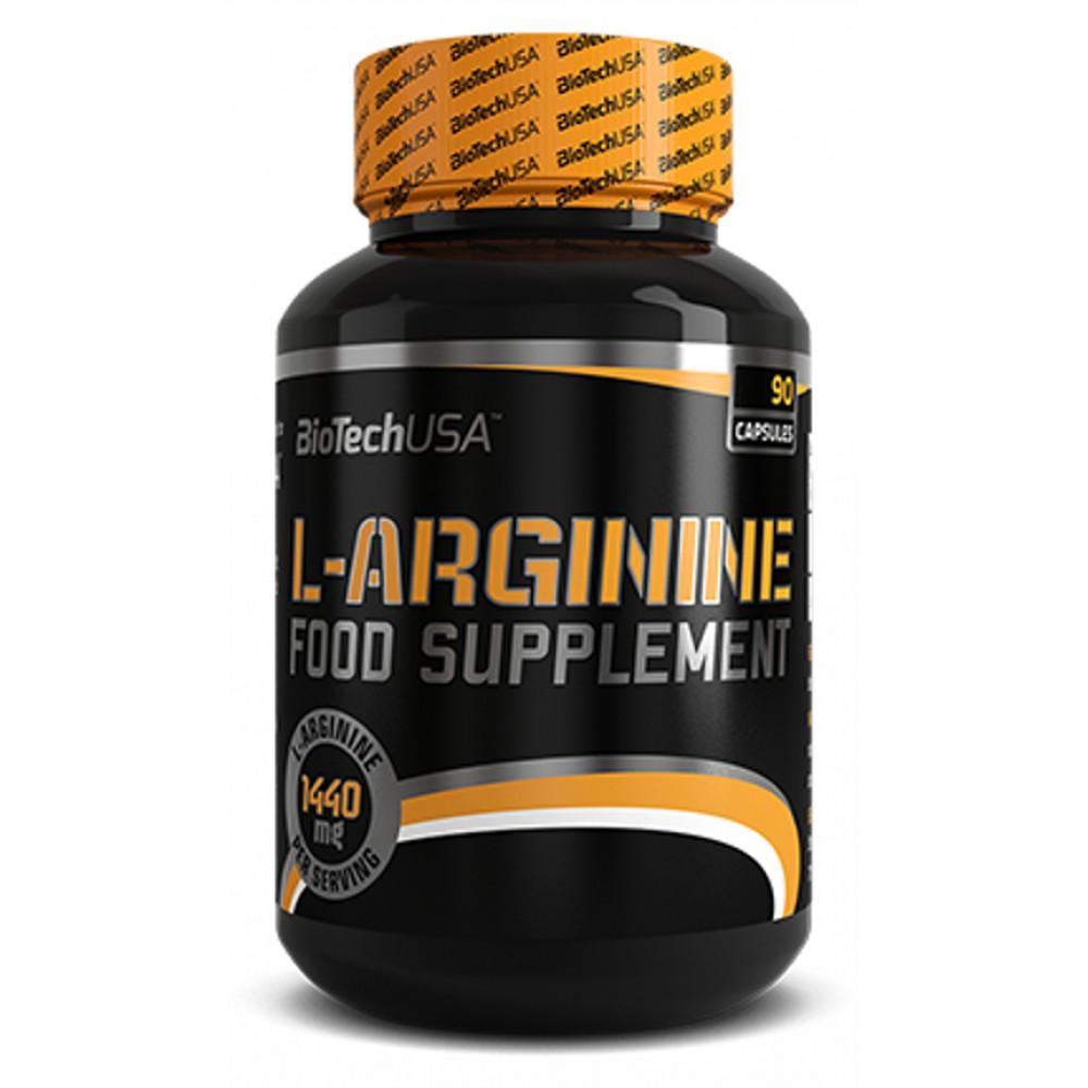 Аминокислоты L-Arginine BioTech USA (90 капс.)