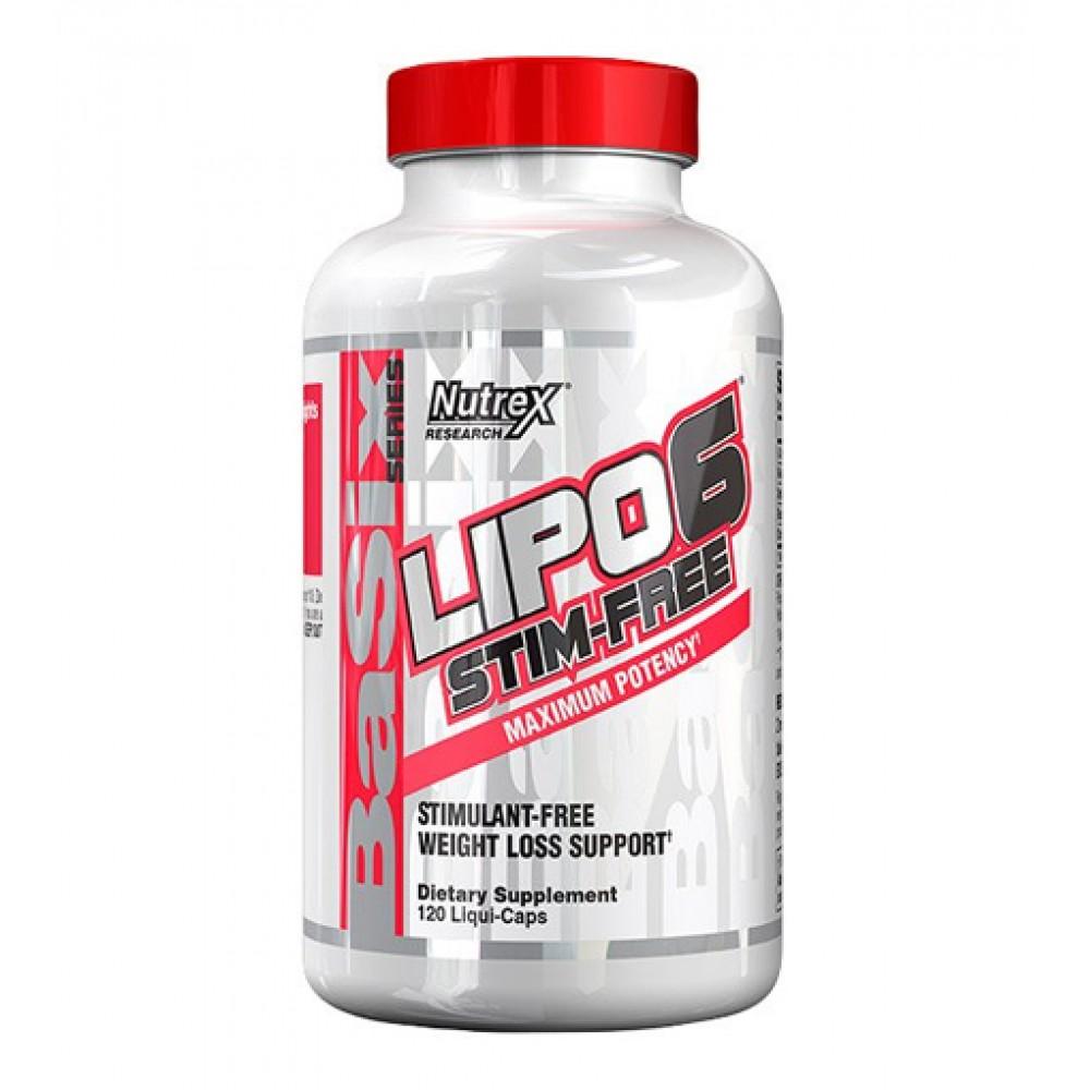 Lipo-6 Stim-free Nutrex Research (120 капс)