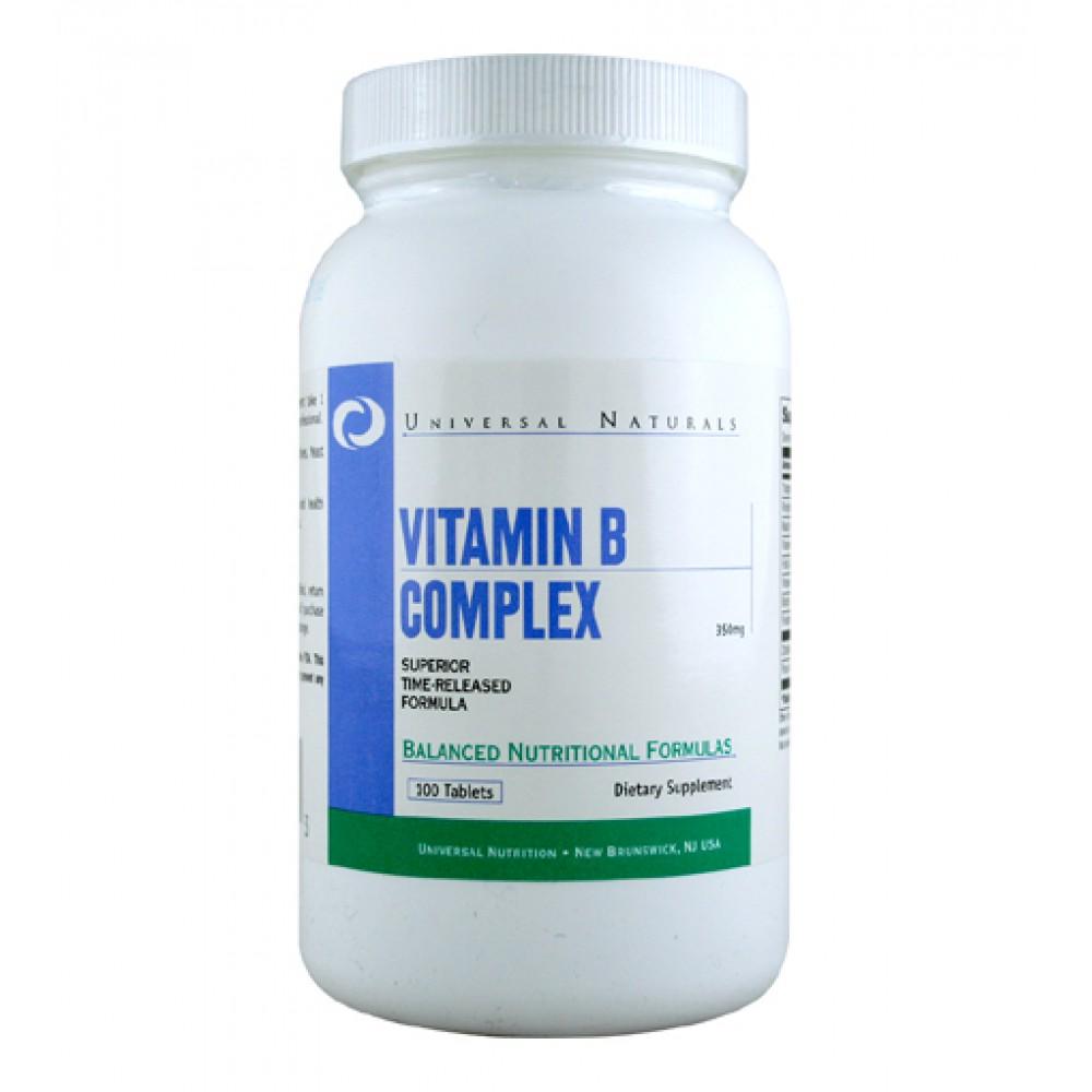 Vitamin B Complex Universal Nutrition (100 табл)