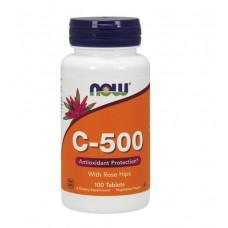 Vitamin C 500 NOW (100 табл)