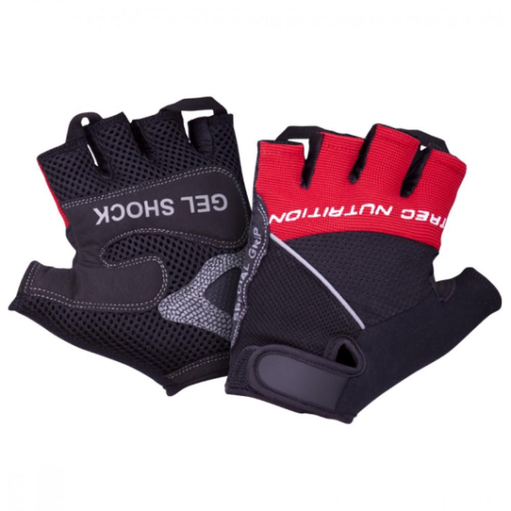 Gloves Gel Shock Trec Nutrition (черно-красные)