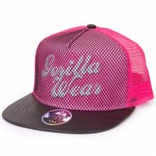 Бейсболка Mesh Pink