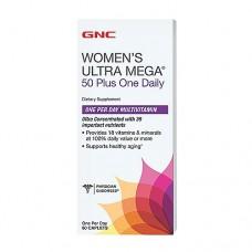 WOMEN'S ULTRA MEGA 50 PLUS ONE DAILY Gnc (60 капс)