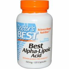 Best Alpha Lipoic Acid  Doctor's Best (120 капс)