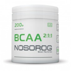 BCAA 2:1:1 Nosorog Nutrition (200 гр)